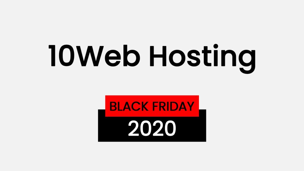 10web black friday 2020 deals
