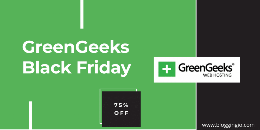 GreenGeeks black friday deals 2020