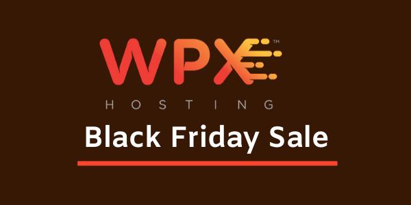WPX Hosting Black Friday 2020