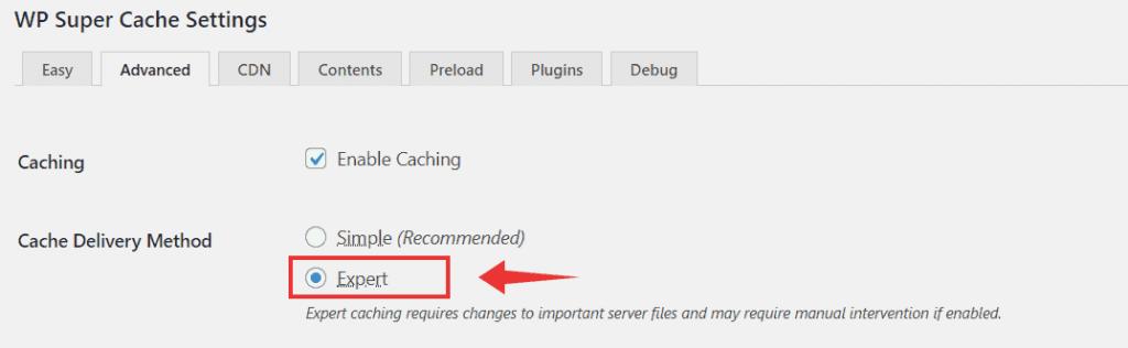 wp super cache wordpress plugin to improve website performance